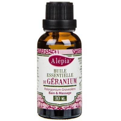 GERANIUM ESSENTIAL OIL - ALEPIA - Massage and relaxation