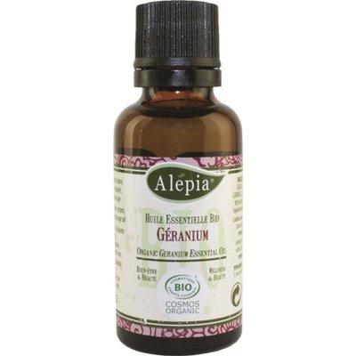 Huile essentielle de Géranium 10mL - ALEPIA - Massage et détente