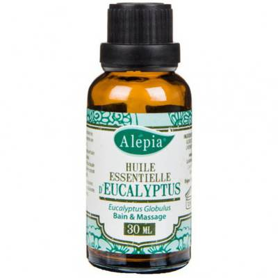 ORGANIC EUCALYPTUS ESSENTIAL OIL - ALEPIA - Massage and relaxation