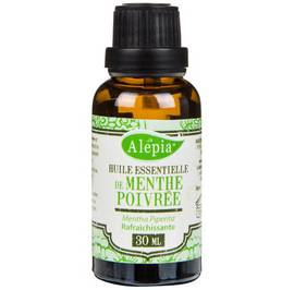 ORGANIC PEPPERMINT ESSENTIAL OIL - ALEPIA - Massage and relaxation