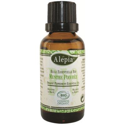 Huile Essentielle de Menthe poivrée 10mL - ALEPIA - Massage et détente