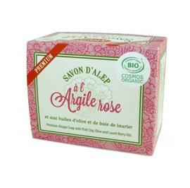 image produit Savon premium argile rose