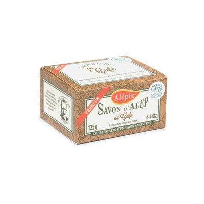 Premium soap with coffee - ALEPIA - Face