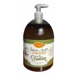 image produit Authentic liquid aleppo soap with 1% laurel oil