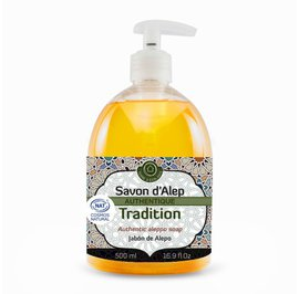 Authentic Liquid Aleppo Soap with 1% Laurel Oil - TERRE D'ECOLOGIS - Face - Hygiene - Body