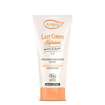 Lait Corps hydratant au beurre de karité - ALEPIA - Corps