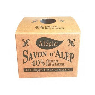 Savon Alep Authentique 40% - ALEPIA - Visage - Hygiène - Corps
