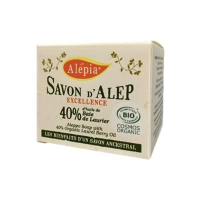 Savon Alep Excellence 40% - ALEPIA - Visage - Hygiène - Corps