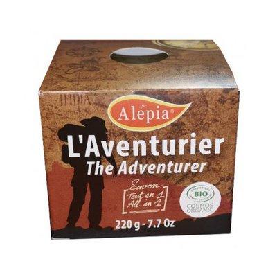 Soap The adventurer - ALEPIA - Face - Hygiene - Hair - Body