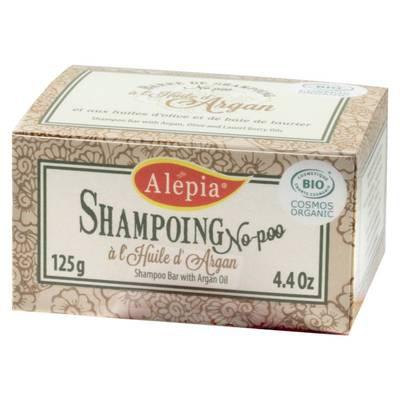 Barre de Shampoing No-Poo à l'Huile d'Argan - ALEPIA - Cheveux