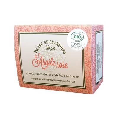 Barre de Shampoing No-Poo à l'Argile rose - ALEPIA - Cheveux