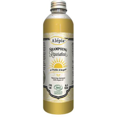 Repairing shampoo with argan oil - ALEPIA - Hair