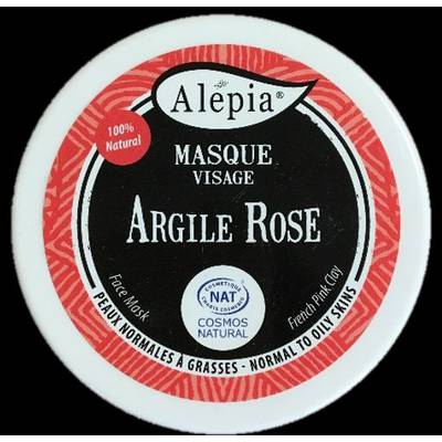 Argile rose - ALEPIA - Visage