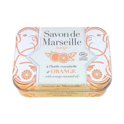 Orange Marseille soap - ALEPIA - Face