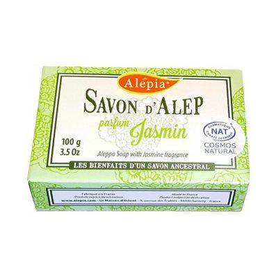 Savon Alep prestige au Jasmin - ALEPIA - Visage - Hygiène - Corps