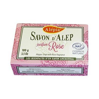 Savon Alep Prestige à la Rose - ALEPIA - Visage - Hygiène - Corps