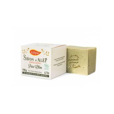 Savon Alep Bio Excellence pure olive - ALEPIA - Visage