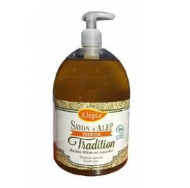image produit Savon alep liquide premium tradition