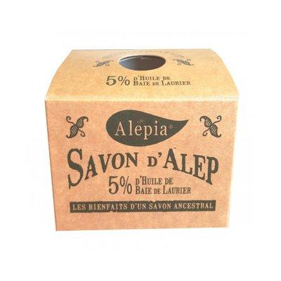 Savon Alep Authentique 5% - TERRE D'ECOLOGIS - Visage - Hygiène - Corps