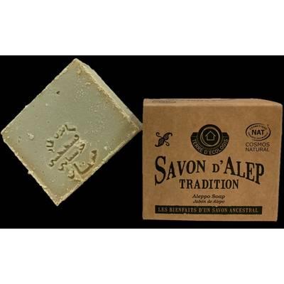 Savon Alep Authentique Tradition - TERRE D'ECOLOGIS - Visage - Hygiène