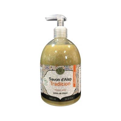 Savon Alep Liquide PremiumTradition liquide - TERRE D'ECOLOGIS - Visage - Hygiène - Corps