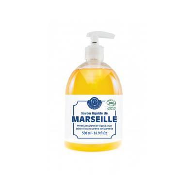 Savon de Marseille liquide Premium - TERRE D'ECOLOGIS - Visage - Hygiène - Corps