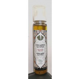 Ayurvedic Hair Oil - TERRE D'ECOLOGIS - Face - Hair - Massage and relaxation - Body