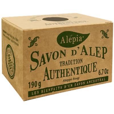Savon Alep authentique tradition - ALEPIA - Visage - Hygiène - Corps
