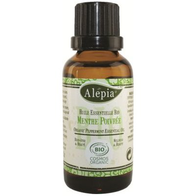 Huile essentielle Menthe poivrée 30mL - ALEPIA - Massage et détente