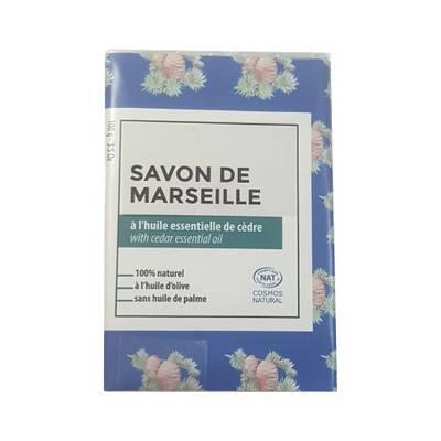 Savon de Marseille parfumé au Cédre - TERRE D'ECOLOGIS - Hygiène
