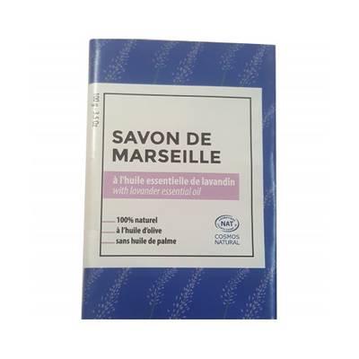 Savon de Marseille parfumé au Lavandin - TERRE D'ECOLOGIS - Hygiène