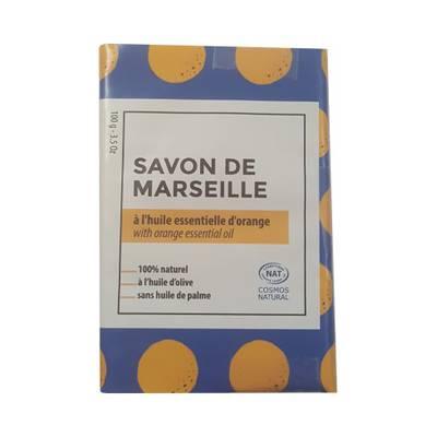 Savon de Marseille parfumé à l'Orange - TERRE D'ECOLOGIS - Hygiène