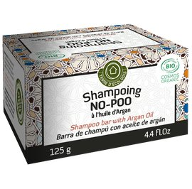 No-Poo Shampoo Bar with Argan Oil - TERRE D'ECOLOGIS - Hair