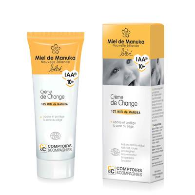 Nappy change cream 10% manuka honey IAA10+ - Comptoirs et Compagnies - Baby / Children