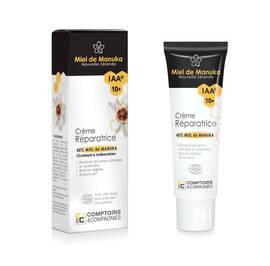 Crème réparatrice 40% miel de manuka IAA10+ - Comptoirs et Compagnies - Corps