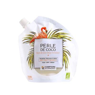 Coco pearl oil - Comptoirs et Compagnies - Face - Hair - Massage and relaxation - Diy ingredients - Body
