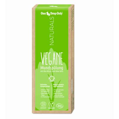 vegan Mouthwash - One Drop Only Naturals - Hygiene