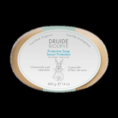 Savon Protecteur bébé (Camomille et fleur de souci) 100 g - DRUIDE - Bébé / Enfants