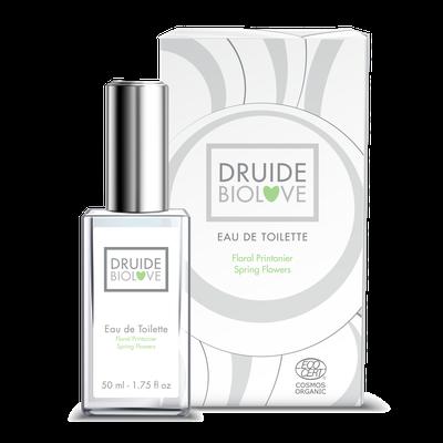 Eau de Toilette Floral Printanier - DRUIDE - Parfums et eaux de toilette - Ingrédients diy