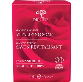Ginseng & Rose Vitalizing Face & Body Soap - DRUIDE - Face - Hygiene