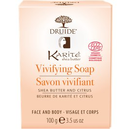 image produit Shea butter & citrus vivifying soap