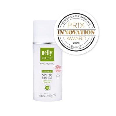 Crème Solaire Minérale FPS 30 - Nelly Devuyst - Visage - Solaires
