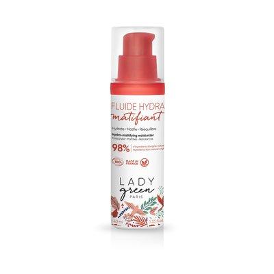 Fluide hydra matifiant - Lady Green - Visage