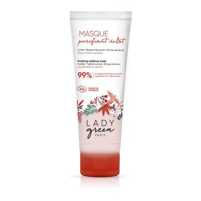 Masque purifiant éclat - Lady Green - Visage