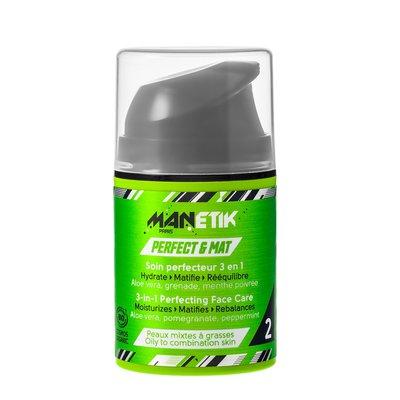 Perfect & Mat - Soin perfecteur 3 en 1 - Manetik - Visage