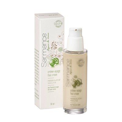 Crème visage Ressource  - Sarmance, cosmétique de vignes bio - Visage