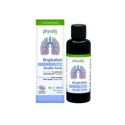 Respiration - Physalis aromatherapy - Massage and relaxation