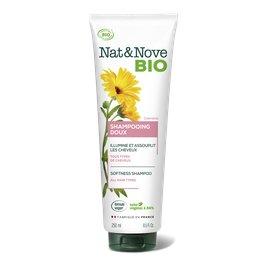 Shampooing Doux Cheveux normaux - Nat&Nove BIO - Cheveux