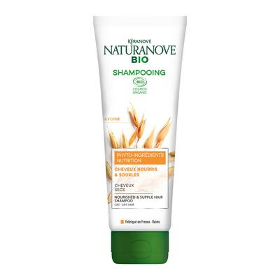 Shampooing Nutrition Avoine Cheveux secs - KÉRANOVE NATURANOVE BIO - Cheveux