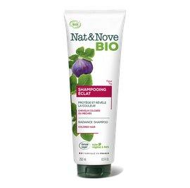 Shampooing Eclat Cheveux colorés - Nat&Nove BIO - Cheveux